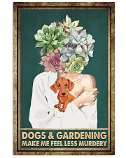garden  11x17 Poster front