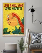 Giraffe 11x17 Poster lifestyle-poster-1