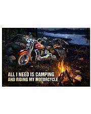 Biker poster 17x11 Poster front