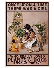 Garden poster 11x17 Poster front