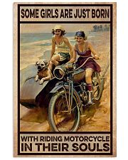 Biker In Their Souls 11x17 Poster front
