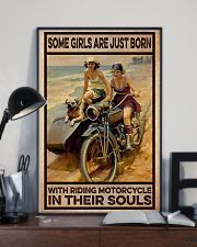 Biker In Their Souls 11x17 Poster lifestyle-poster-2