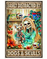 dog poster 11x17 Poster front