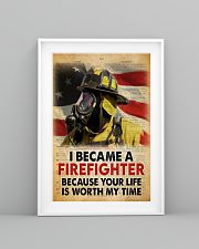 Became a Firefighter 24x36 Poster lifestyle-poster-5