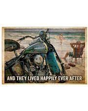 poster biker 17x11 Poster front