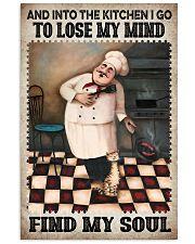 Chef Lose My Mind Find My Soul Vertical Poster tile