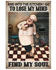 Chef Lose My Mind Find My Soul 24x36 Poster front