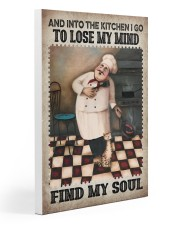 Chef Lose My Mind Find My Soul Gallery Wrapped Canvas Prints tile