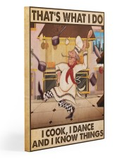 Chef Gallery Wrapped Canvas Prints tile