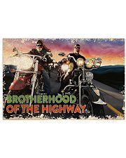 Biker Brotherhood 17x11 Poster front
