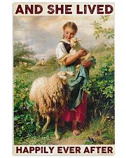 Farmer Lived Happily Ever After 24x36 Poster front