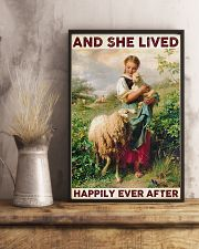 Farmer Lived Happily Ever After 24x36 Poster lifestyle-poster-3