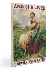 Farmer Lived Happily Ever After Gallery Wrapped Canvas Prints tile