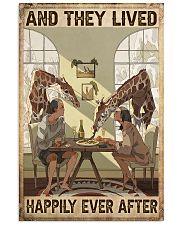 Giraffe poster 11x17 Poster front