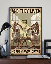 Giraffe poster 11x17 Poster lifestyle-poster-2