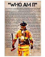 firefighter  poster Vertical Poster tile