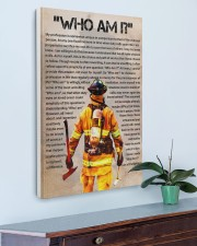 firefighter  poster 20x30 Gallery Wrapped Canvas Prints aos-canvas-pgw-20x30-lifestyle-front-01