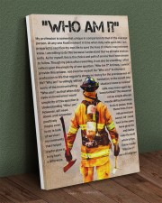 firefighter  poster 20x30 Gallery Wrapped Canvas Prints aos-canvas-pgw-20x30-lifestyle-front-16