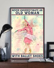 Old Woman with Ballet shoes 11x17 Poster lifestyle-poster-2