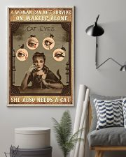 Makeup cat eyes 24x36 Poster lifestyle-poster-1