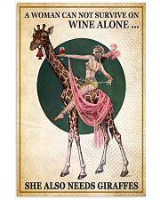 Giraffe 11x17 Poster front
