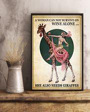 Giraffe 11x17 Poster lifestyle-poster-3