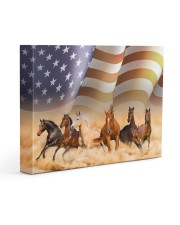 horse canvas 14x11 Gallery Wrapped Canvas Prints front