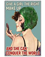 The right makeup 24x36 Poster front