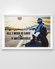 All I Need Is Love And A Motorcycle 36x24 Poster poster-landscape-36x24-lifestyle-02