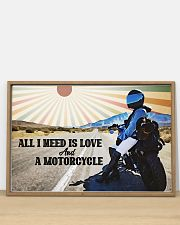 All I Need Is Love And A Motorcycle 36x24 Poster poster-landscape-36x24-lifestyle-03