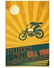 Biker Choose Something Fun 11x17 Poster front