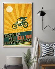 Biker Choose Something Fun 11x17 Poster lifestyle-poster-1