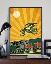 Biker Choose Something Fun 11x17 Poster lifestyle-poster-2