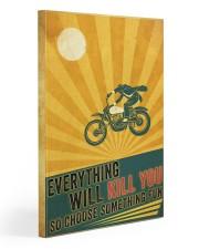 Biker Choose Something Fun Gallery Wrapped Canvas Prints tile