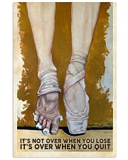 Ballet poster 11x17 Poster front