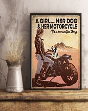 Biker poster 11x17 Poster lifestyle-poster-3