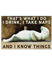 Beer Drink and Know Things 36x24 Poster front