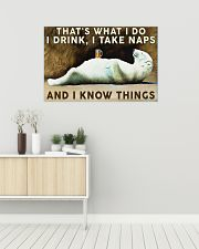 Beer Drink and Know Things 36x24 Poster poster-landscape-36x24-lifestyle-01