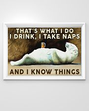 Beer Drink and Know Things 36x24 Poster poster-landscape-36x24-lifestyle-02