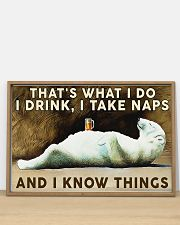 Beer Drink and Know Things 36x24 Poster poster-landscape-36x24-lifestyle-03