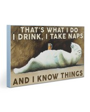 Beer Drink and Know Things Gallery Wrapped Canvas Prints tile