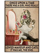 Love makeup and cats 24x36 Poster front