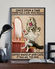 Love makeup and cats 24x36 Poster lifestyle-poster-2