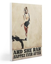 Ran Happily  Gallery Wrapped Canvas Prints tile