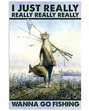 Wanna Go Fishing Vertical Poster tile