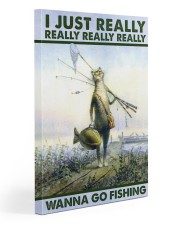 Wanna Go Fishing Gallery Wrapped Canvas Prints tile