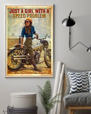 Biker poster 11x17 Poster lifestyle-poster-1