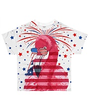Flamingo all over All-over T-Shirt front