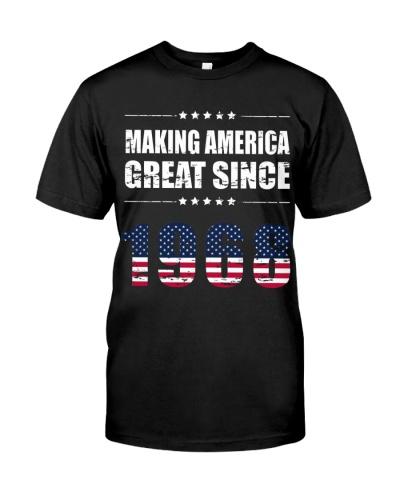 making america great since 1968 t shirt 50th birth