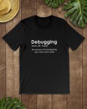 Programmer T-Shirt - Debugging Premium Fit Mens Tee lifestyle-mens-crewneck-front-18